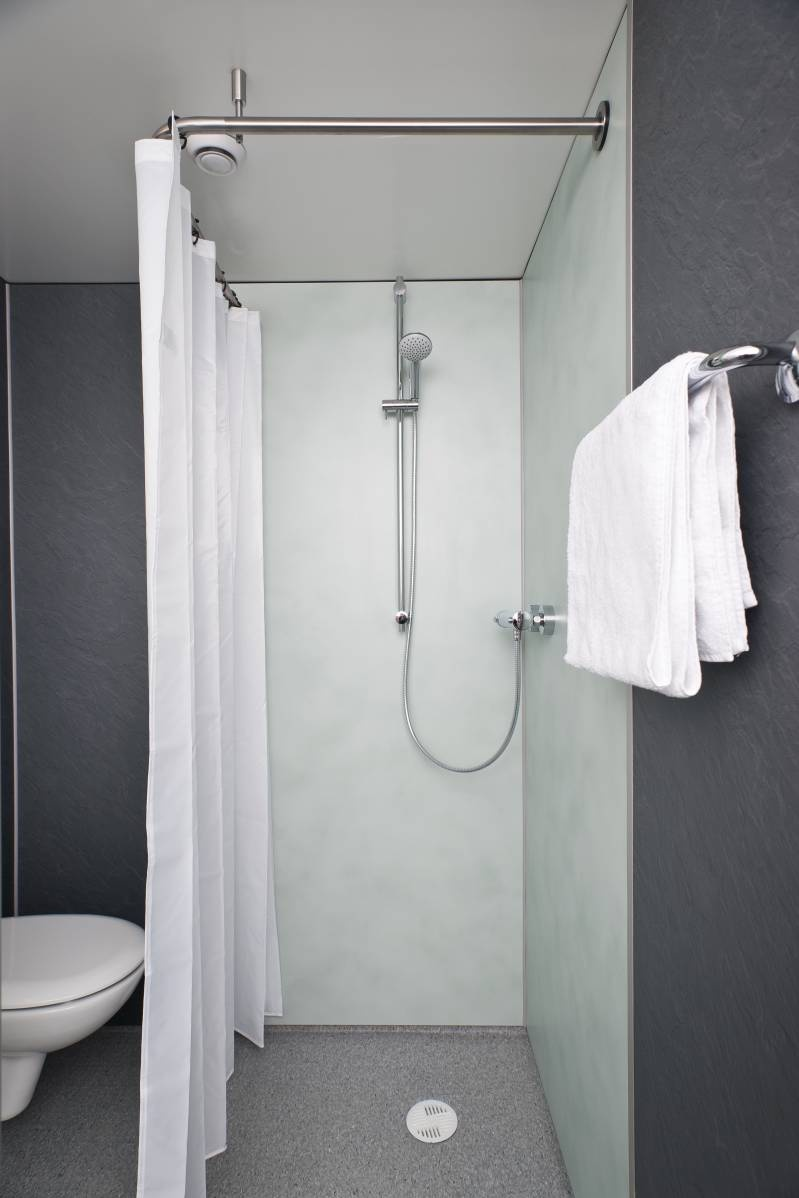 ebenerdige dusche mit vorhang home image ideen. Black Bedroom Furniture Sets. Home Design Ideas